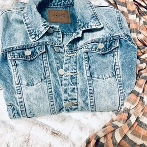 Blanc NYC Denim jacket